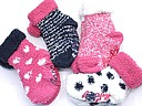 Soft anti slip baby socks with various patterns