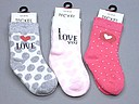 Teckel baby socks with 'i love you' text