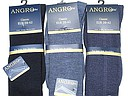 Plain Angro knee highs for men with 42% wool