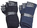 Cushioned men's sock in black and navy