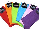 Plain men's socks in bright colors