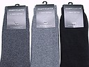 Cotton Marcmarcs men socks in sets of two grey or black