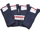Navy terry sport socks from Apollo