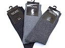 Teckel women's socks in three grey tones