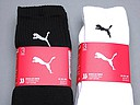 Women's sports socks in black and white from Puma